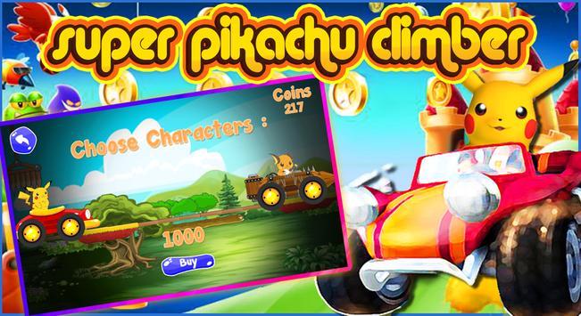 super pikachu climber screenshot 2