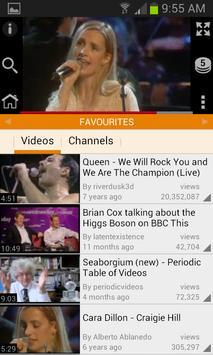 Zing YouTube Player apk screenshot