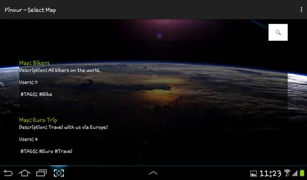 Pinour - Team GPS screenshot 2