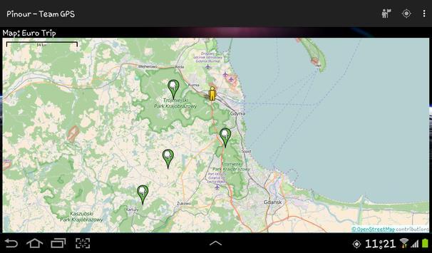 Pinour - Team GPS screenshot 5