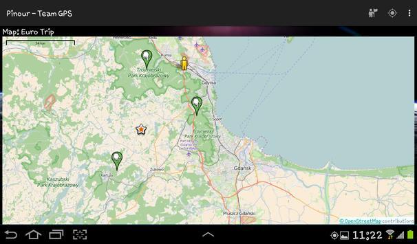 Pinour - Team GPS screenshot 4