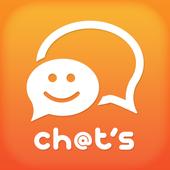 チャッツ-近所で出会い~恋活婚活マッチング!人気の無料SNS icon