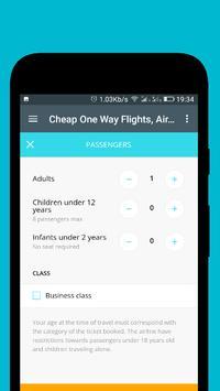 Cheap One Way Flights screenshot 14