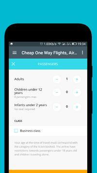 Cheap One Way Flights screenshot 5