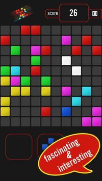 Color Blocks - destroy blocks (Puzzle game) poster