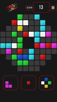 Color Blocks - destroy blocks (Puzzle game) screenshot 1