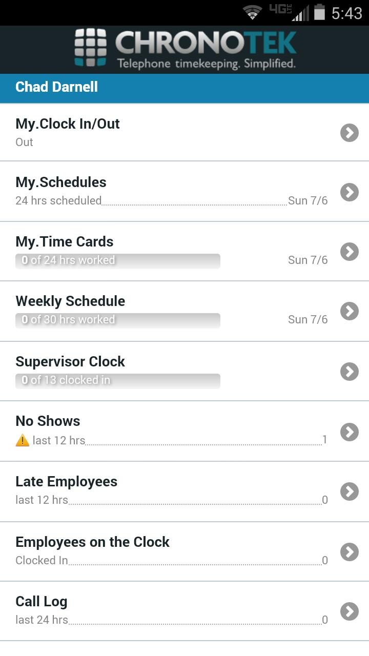 Chronotek Mobile App For Android Apk Download