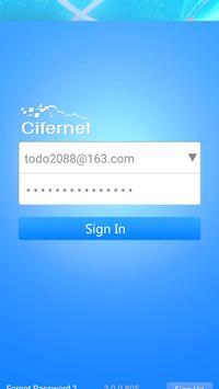 Cifernet Mobile poster