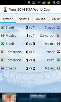 Your 2014 Football World Cup poster