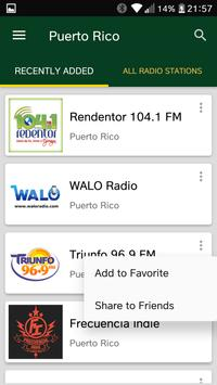 Puerto Rican Radio Stations screenshot 1