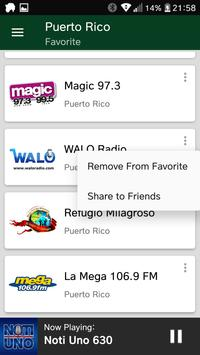 Puerto Rican Radio Stations screenshot 5