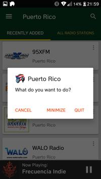 Puerto Rican Radio Stations screenshot 7