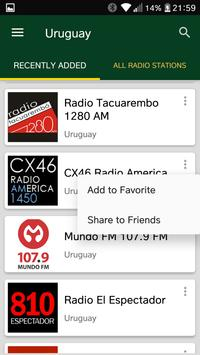 Uruguayan Radio Stations screenshot 1