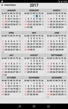 Year At A Glance apk screenshot