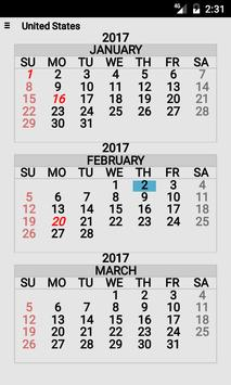 Year At A Glance apk screenshot