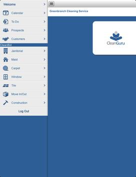 cleanguru cleanbid cleanqc janitorial software apk screenshot