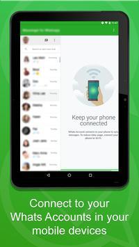 Web Messenger with Caller ID apk screenshot