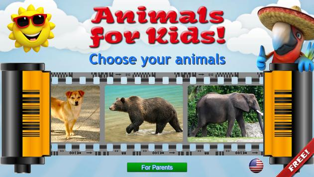 Animals for Kids, Planet Earth Animal Sounds poster