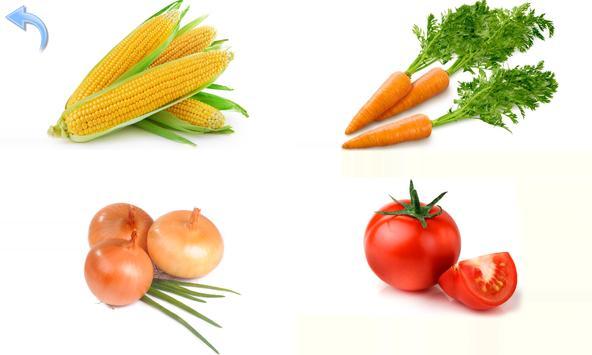 Fruits and Vegetables for Kids apk screenshot