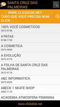 Clickdisk Sta C. das Palmeiras apk screenshot