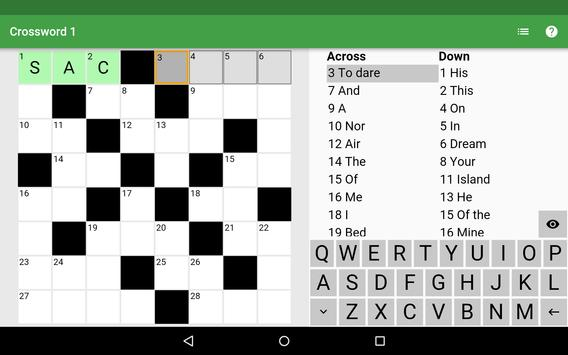 Crosswords To Learn French screenshot 6