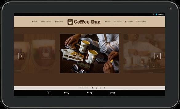 Coffee Day apk screenshot