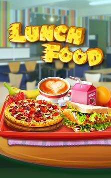Make Lunch Box: Kids Food Game poster