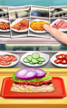 Make Lunch Box: Kids Food Game apk screenshot