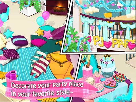 Crazy BFF Girls PJ Night Party apk screenshot