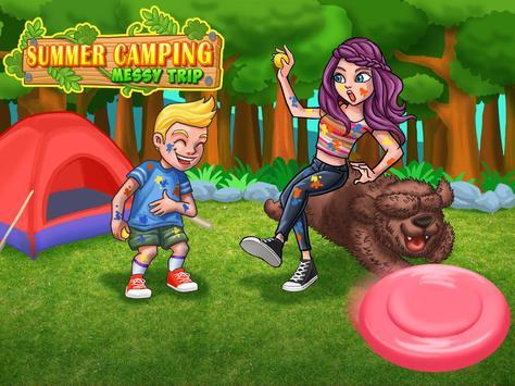 Siblings War - Summer Outdoor Camping Day! apk screenshot