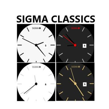 Sigma Classic Watchfaces poster