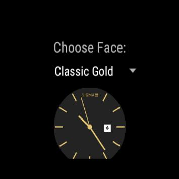 Sigma Classic Watchfaces apk screenshot