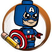Learn To Draw Lego Superheroes icon