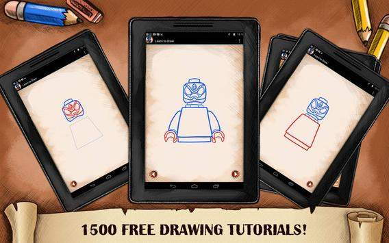 Learn To Draw Lego Superheroes apk screenshot