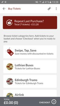 Lothian Buses M-Tickets screenshot 1