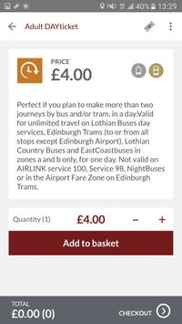 Lothian Buses M-Tickets screenshot 2