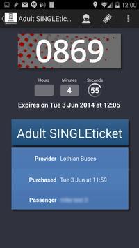 Lothian Buses M-Tickets apk screenshot