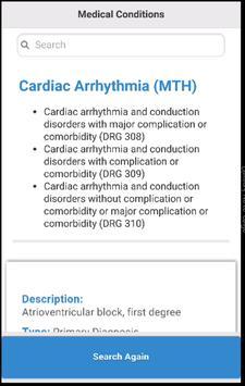 Diagnoses Related Groups DRGS apk screenshot