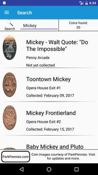 Pressed Coins at Disneyland apk screenshot