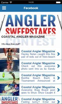 Coastal Angler Magazine poster