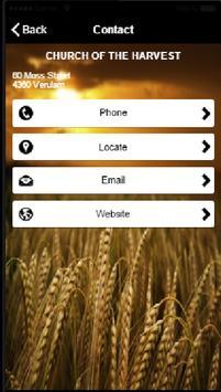 Church of the Harvest Verulam apk screenshot