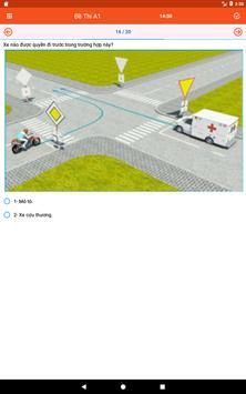 Lý thuyết thi lái xe (450 câu) screenshot 5