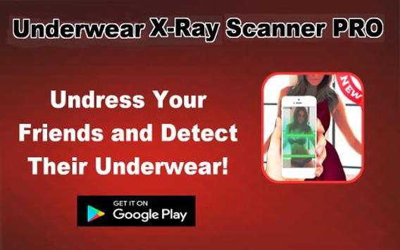 Underwear X-Ray Scanner Prank poster