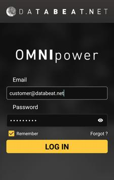 Databeat OMNIpower poster