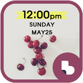 리본 체리 버즈런처 테마 (홈팩) icon