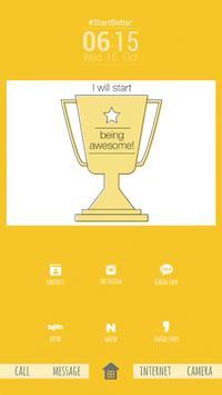 크리니크 버즈런처 테마(홈팩) apk screenshot