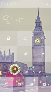 유럽 타일 버즈런처 테마(홈팩) screenshot 1