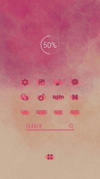 매혹적인 입술 버즈런처 테마 (홈팩) apk screenshot