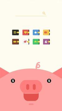 부자들의 돼지저금통 버즈런처 테마 (홈팩) screenshot 2