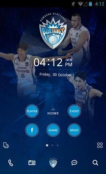 삼성 블루팡스 배구단 버즈런처 테마(홈팩) poster